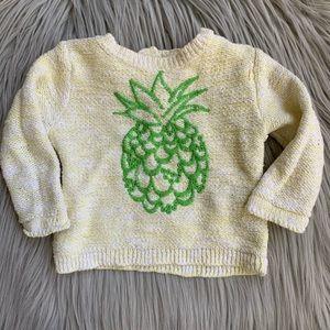 ZARA BabyGirl Infant Girl Pineapple Knit Sweater